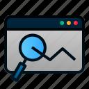analysis, data, graph, internet, seo, statistic, web