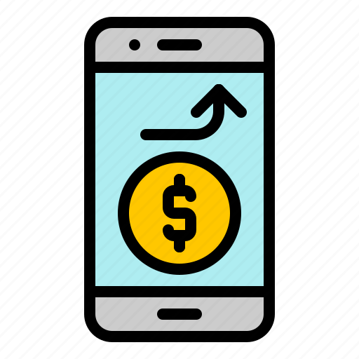 digital, marketing, mobile, money, online, phone, wallet icon
