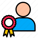 achievement, badge, digital, marketing, profile icon