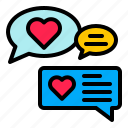 chat, digital, marketing, message, speech bubble, talk