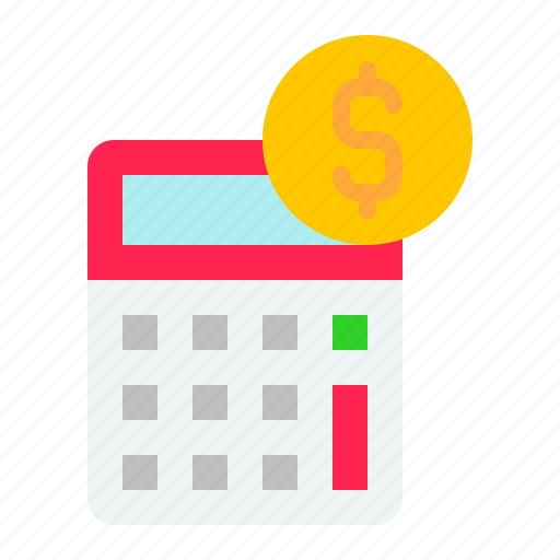 calculate, calculator, digital, marketing, money icon