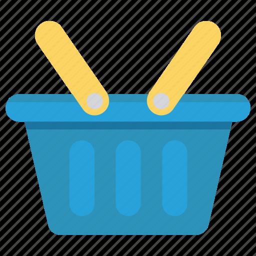 basket, buying, food, shopping, trolley icon