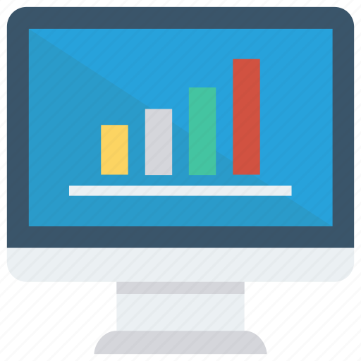 Chart, diagram, graph, monitor, statistic icon - Download on Iconfinder
