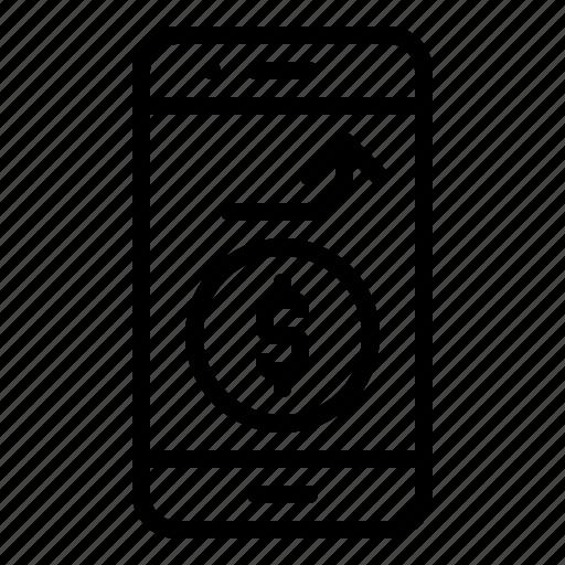 digital, marketing, mobile, money, online, phone, wallet icon