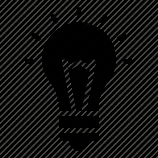 digital, idea, light, light bulb, marketing icon