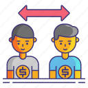 b2b, business, customers, finance icon