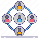 community, network, people icon