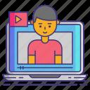 influencer, vlog, vlogger icon