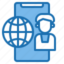 business, card, consumer, customer, digital, payment, technology icon