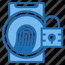 business, card, customer, digital, fingerprint, payment, technology icon