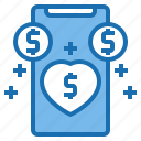 business, card, customer, digital, loyalty, payment, technology icon