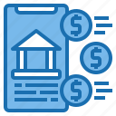 banking, business, customer, digital, online, payment, technology icon