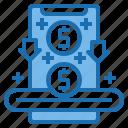 business, card, customer, digital, payment, saving, technology icon
