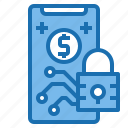 business, card, customer, digital, payment, security, technology icon
