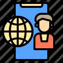 card, computer, consumer, customer, device, electronic, shop icon
