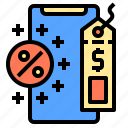 card, computer, customer, device, discount, electronic, shop icon