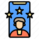 card, computer, customer, device, electronic, rate, shop icon