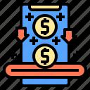 card, computer, customer, device, electronic, saving, shop icon