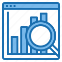 analytic, business, computer, connection, internet, network, technology icon