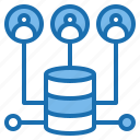 backup, business, computer, connection, internet, network, technology icon