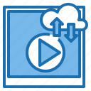 business, clip, computer, connection, internet, network, technology icon