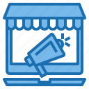 computer, connection, internet, network, online, shopping, technology icon