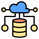 business, connection, digital, receiver, server, service, system icon