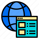 business, connection, digital, receiver, server, system, website icon