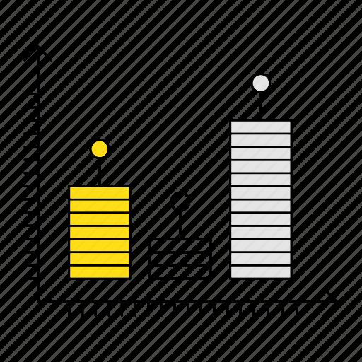 data, digital services, marketing, report, seo icon