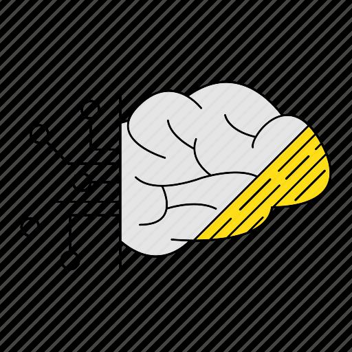 digital, digital services, idea, marketing, mind, seo, think icon