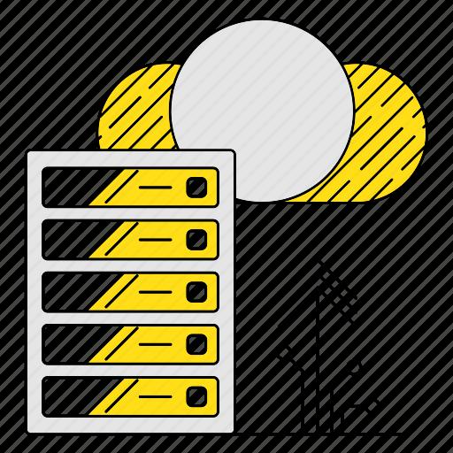 cloud, data, digital services, exchange, marketing, seo, upload icon