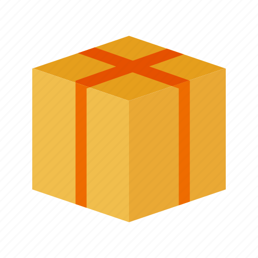 advertising, box, container, package, packaging, parcel, product icon