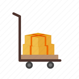 factory, freight, logistics, transportation, truck, warehouse icon