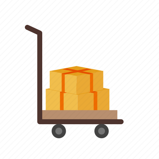 factory, freight, logistics, transportation, truck, warehouse icon