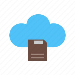 backup, cloud, computer, connection, internet, storage, technology icon