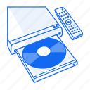 blueray, cd, dvd, movie, mp3, music, player icon
