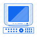 electronic device, film, movie, old tv, television, tv, watch icon