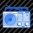 device, digital, electronic, fm, radio, sony icon