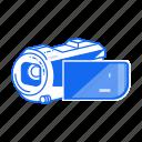 camera, film, record, sony, video, video cam icon
