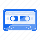 band, casette, kasette, music, play, type icon