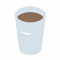 coffee, cup, styrofoam icon