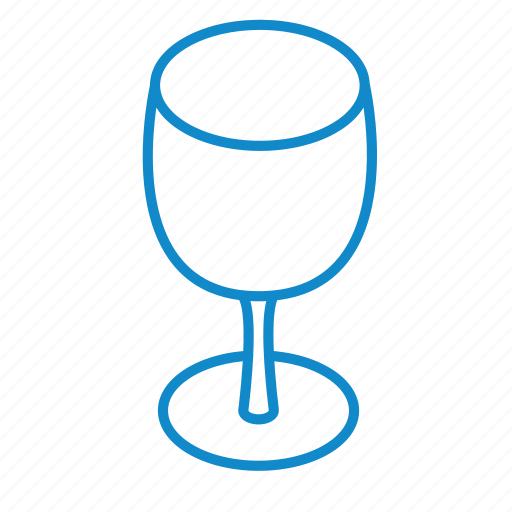 alcohol, beverage, drink, empty, glass, wine icon