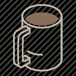 beverage, cafe, chocolate, coffee, full, hot, mug icon