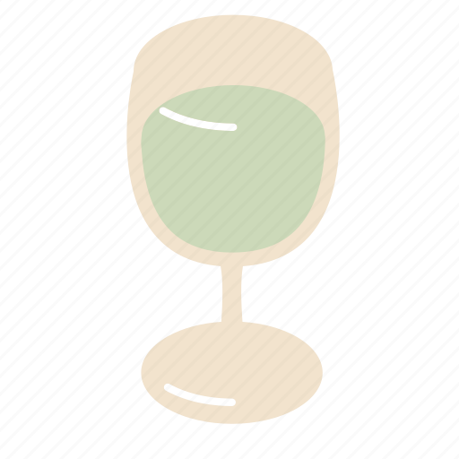 glass, white, wine icon
