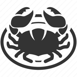 crab, dining, food, fresh, meal, restaurant, seafood icon