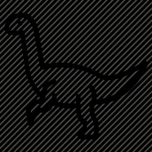 Deceptive, lizard, jurassic, genus, animalsdinosaurs, apatosaurus icon - Download on Iconfinder