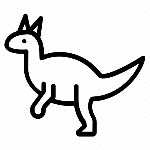 Quingdao, lizard, hadrosaurid, animals, dinosaurs, tsintaosaurus icon - Download on Iconfinder