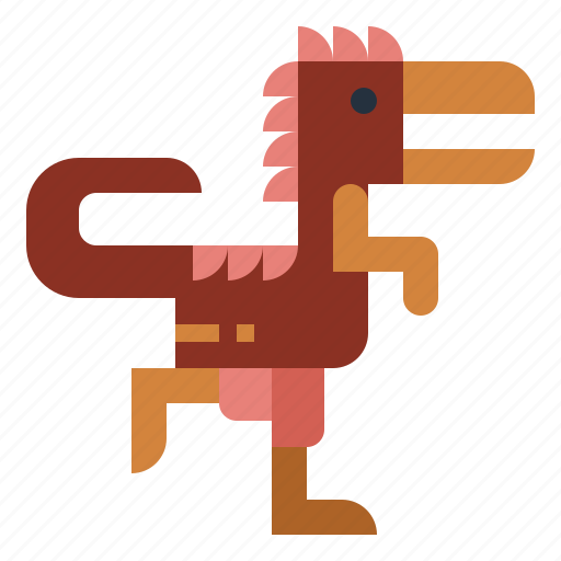 dinosaur, extinct, indominus, rex, wildlife icon