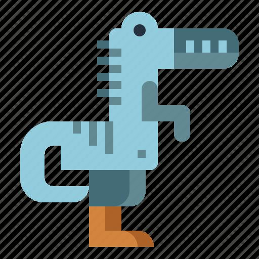 animals, dinosaur, extinct, metriacanthosaurus icon