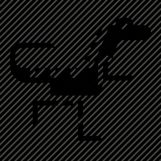 allosaurus, animals, carnivore, wildlife icon